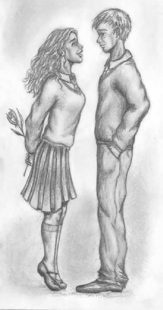 عکس نقاشی قشنگ عاشقانه