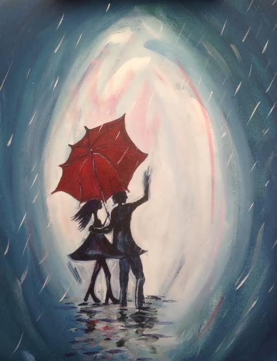 انواع عکس نقاشی رمانتیک و عاشقانه