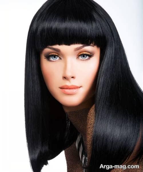 مدل مو گرد مصری
