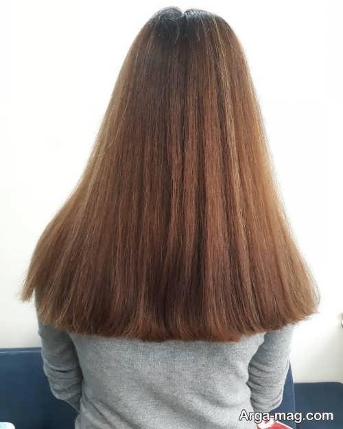 مدل مو بلند گرد