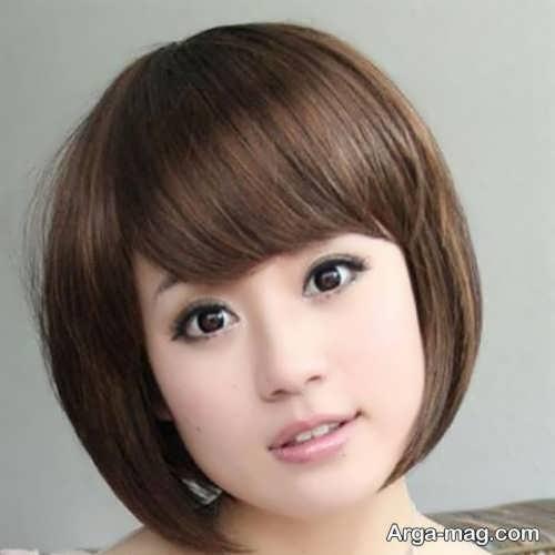 مدل موی زیبا و شیک گرد
