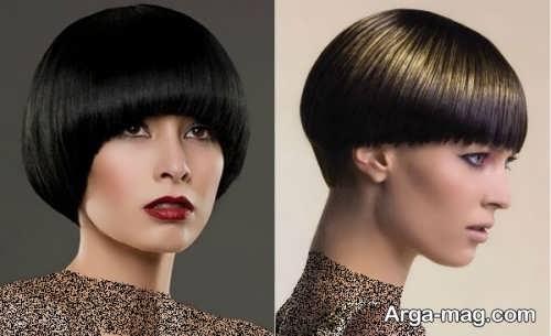 مدل موی زنانه و دخترانه گرد