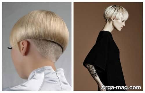 مدل مو دخترانه گرد