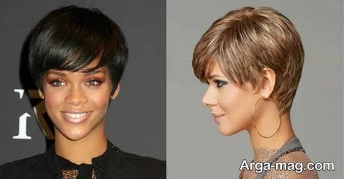 مدل مو گرد زنانه