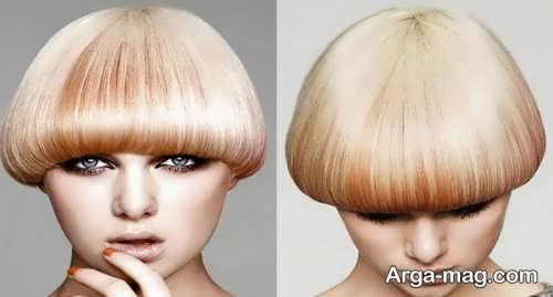 مدل کوتاهی موی گرد