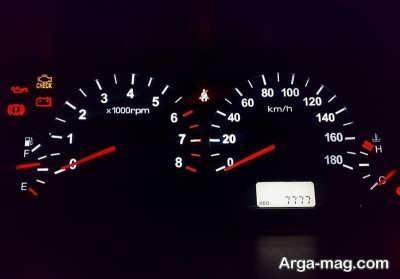 بررسی کیلومتر شمار خودرو