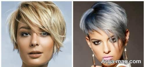 مدل موی زیبا و متفاوت زنانه