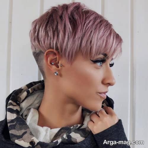 مدل موی ساده و کوتاه زنانه