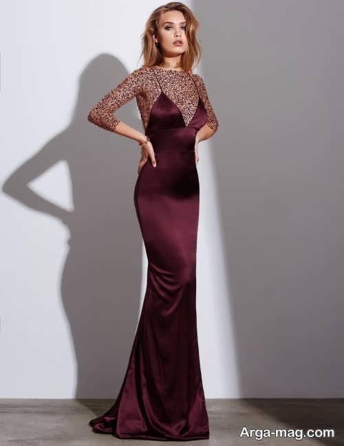 لباس حریر بلند