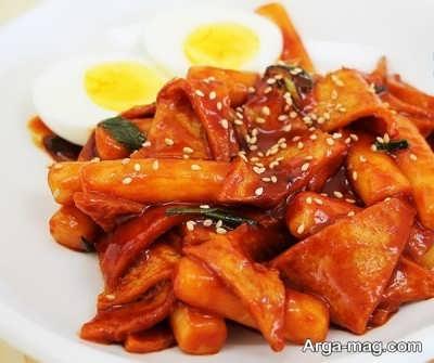 مرغ سوخاری کره ای