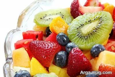 برش زدن میوه ها