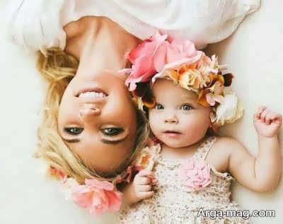 جملات عاشقانه مادر به دختر