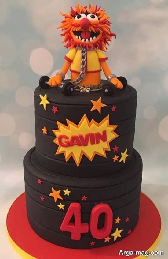 تم جشن تولد چهل سالگی