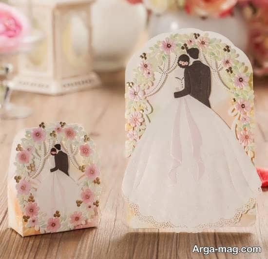 مدل کارت عروسی لاکچری