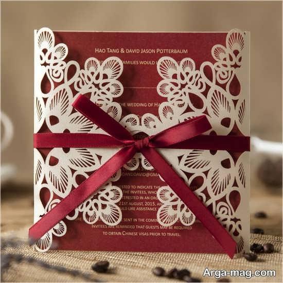 کارت دعوت های دوست داشتنی عروسی