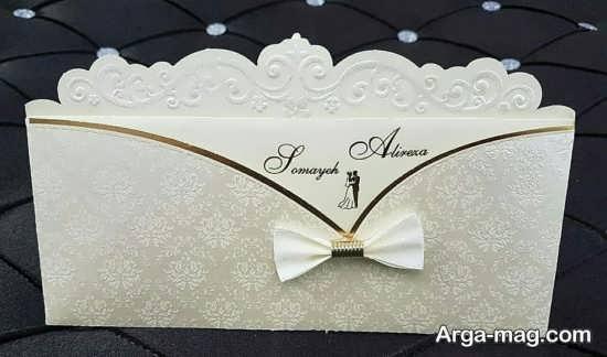 انواع کارت عروسی با طراحی زیبا