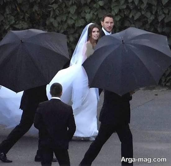 ازدواج کریس پرات و دختر آرنولد