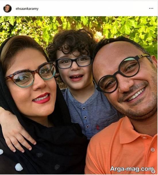 خانواده عینک به چشم احساس کرمی