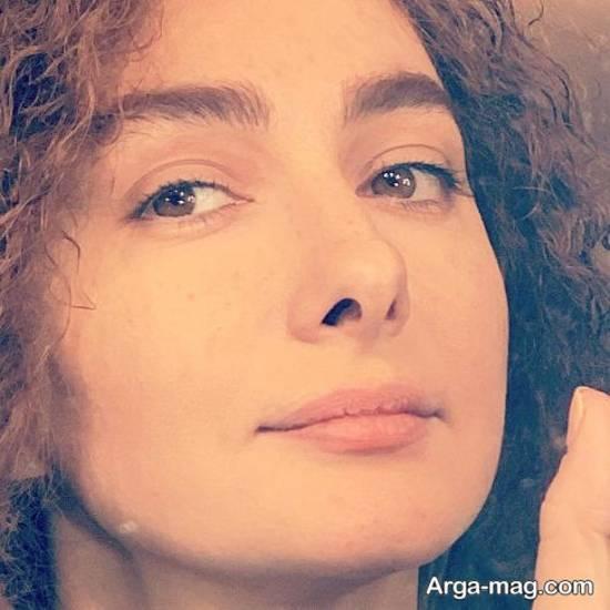 عکس بدون آرایش هانیه توسلی