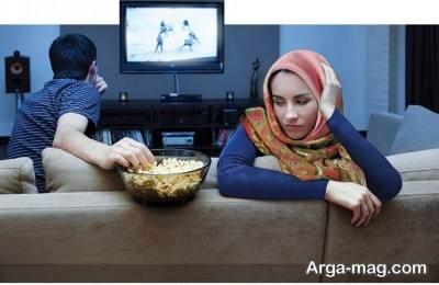 علت بی تفاوتی همسر