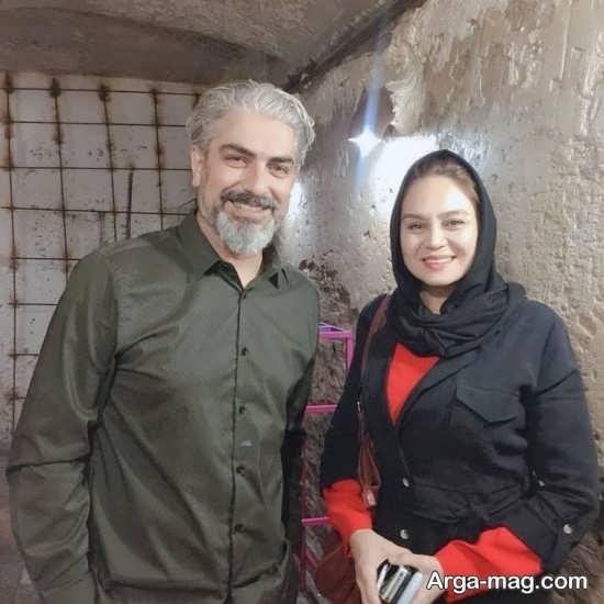 مهدی پاکدل و افسون افشار