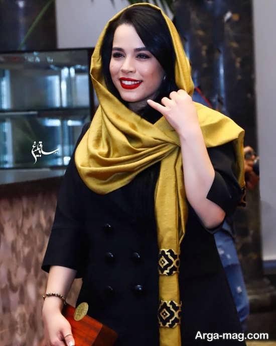چهره جذاب ملیکا شریفی نیا