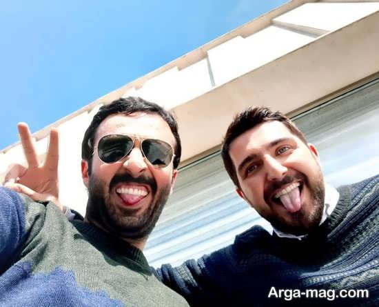 دلقک بازی حسام محمودی و محمدرضا غفاری