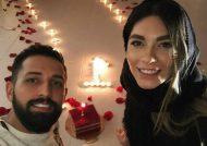 عاشقانه محسن افشانی و همسرش سویل