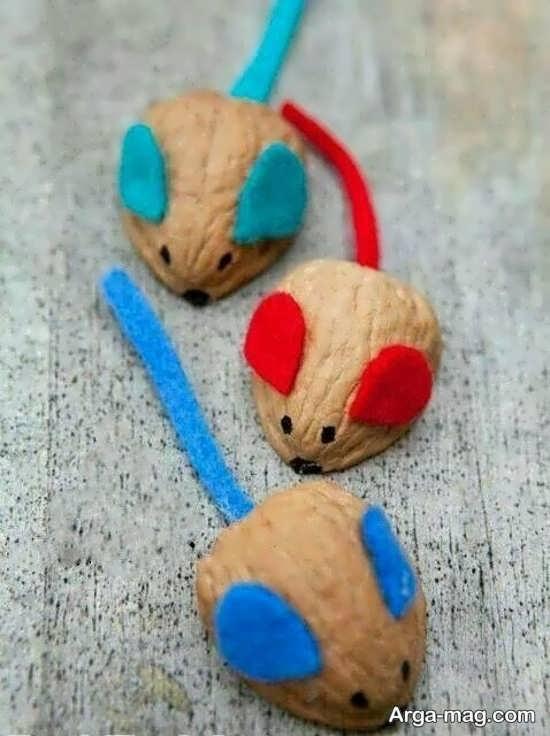 زیباترین ایده ها برای ساخت موش