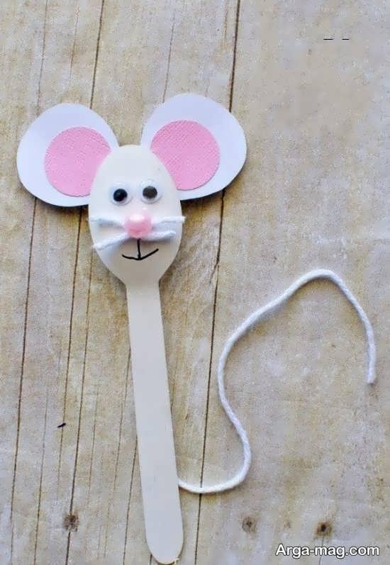 ایده های جدید برای ساخت کاردستی به شکل موش