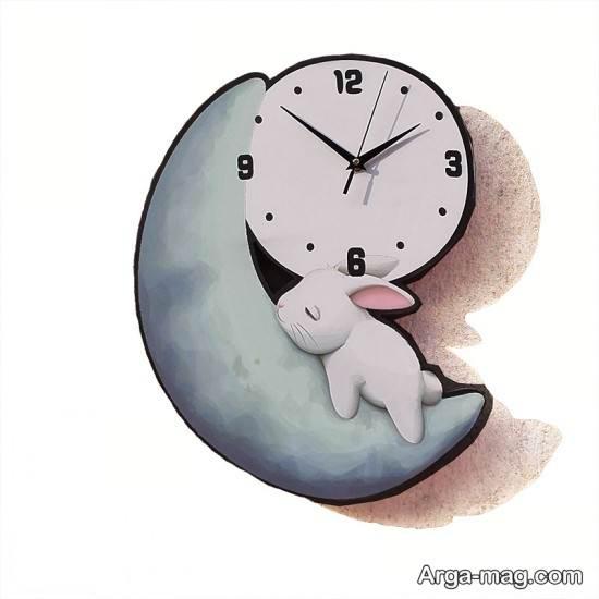 طراحی ساعت کودکانه