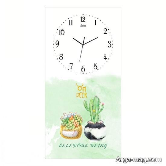 نقاش قشنگ ساعت