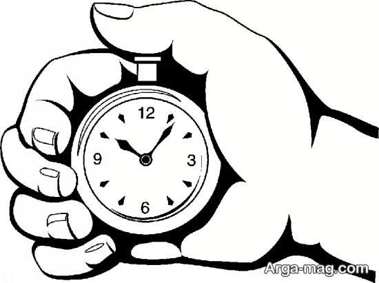 طراحی ساعت