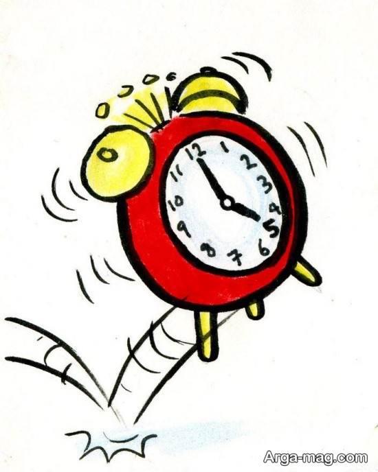 طراحی ساعت زنگ دار