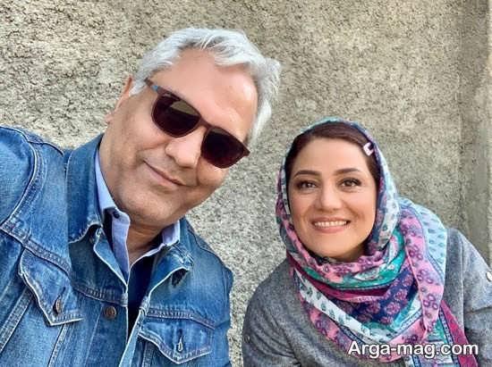 سلفی شبنم مقدمی و مهران مدیری