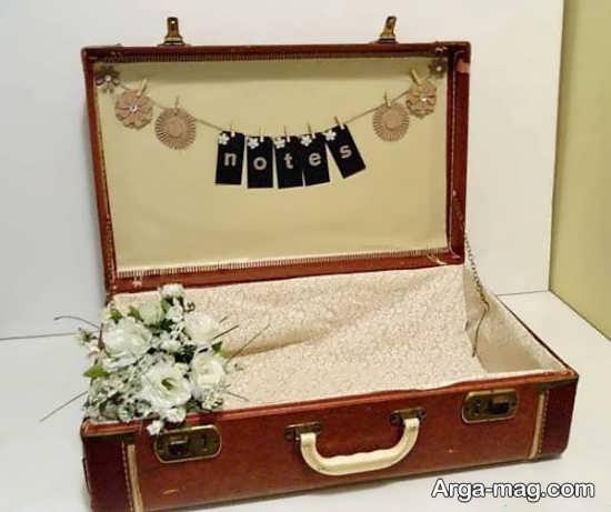 تزیین صندوقچه و چمدان عروس