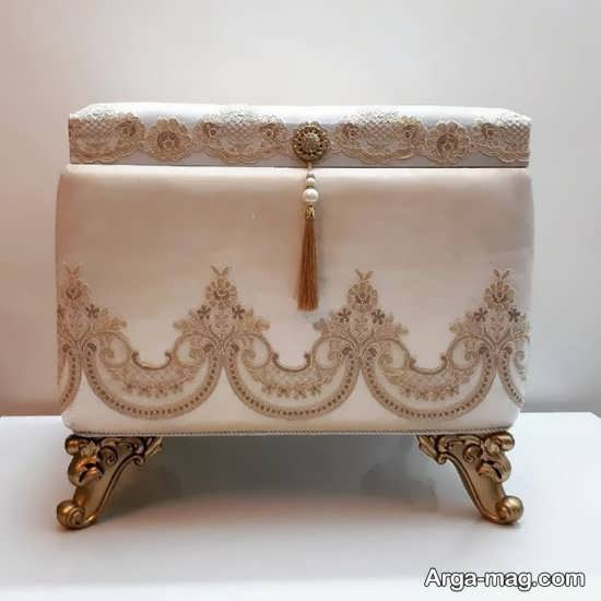 تزیین مدرن صندوقچه عروس