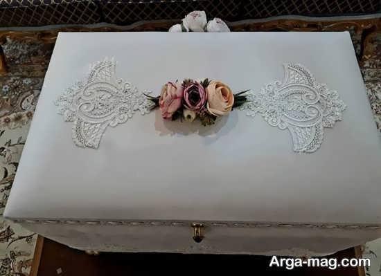 تزیین شیک صندوقچه عروس