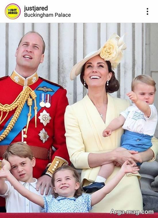 شاهزاده ویلیام و فرزندانش