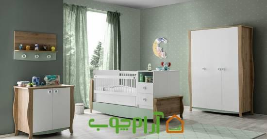 مدل های زیبای سرویس خواب نوزاد