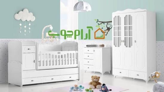 مدل های پرفروش سرویس خواب نوزاد