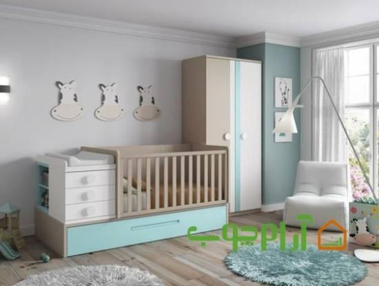 مدل های شیک سرویس خواب نوزاد