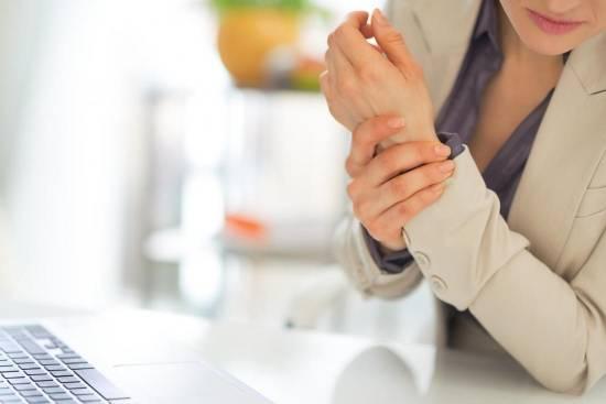 درمان درد مچ دست