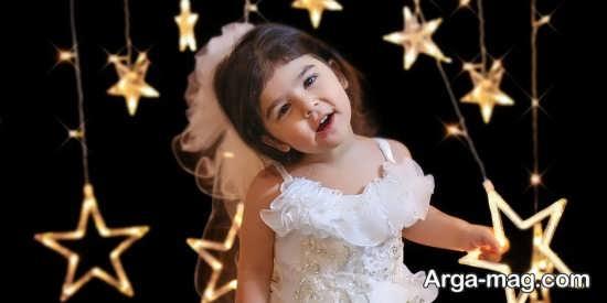 عکس زیبا و فانتزی کودک