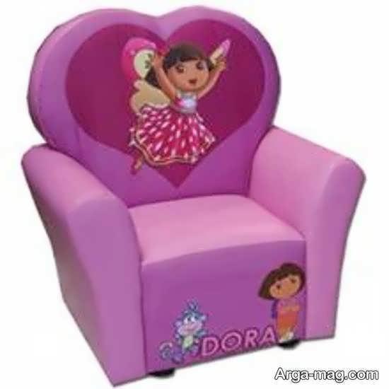 ایده مبل اتاق کودک جذاب و زیبا