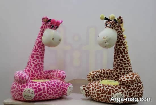 مدل مبل اتاق کودک با شکل زرافه