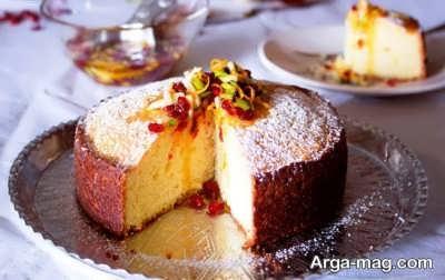 طرز تهیه کیک زرشک