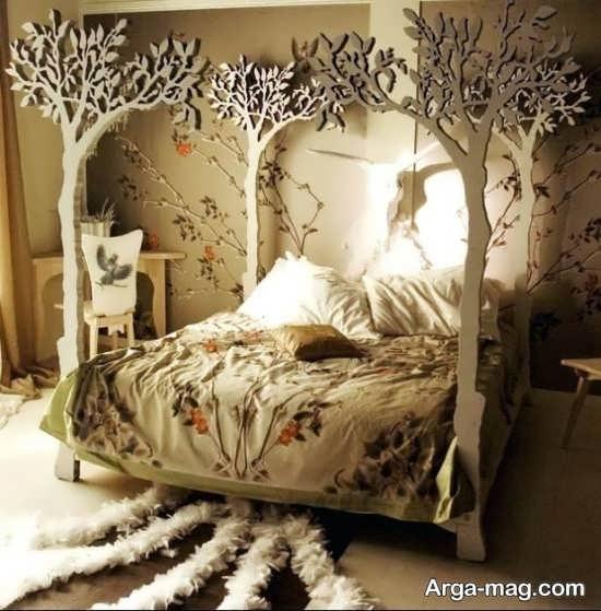 دیزاین متفاوت اتاق خواب فانتزی