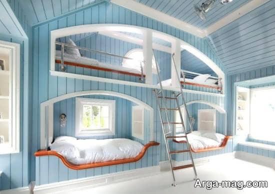 دیزاین شیک اتاق خواب فانتزی