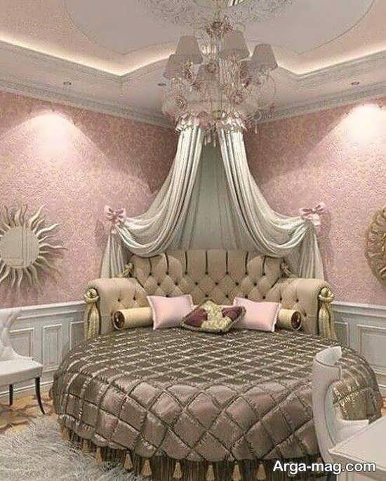 دیزاین زیبای اتاق خواب فانتزی
